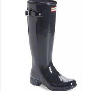 Brand New HUNTER Original Tall Gloss Rain Boots